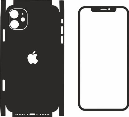 Picture of iphone 11 Skin Template