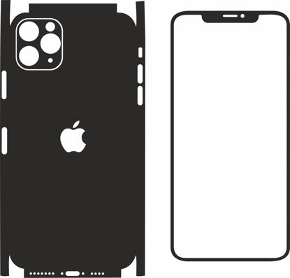 Picture of iphone 11 pro max Skin Template