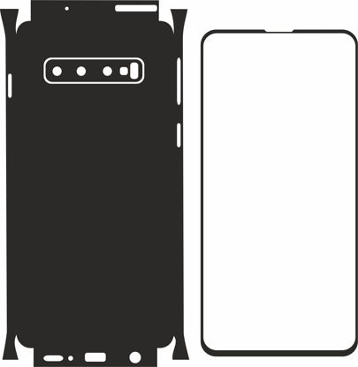 Picture of Samsung Galaxy S10 Skin Template