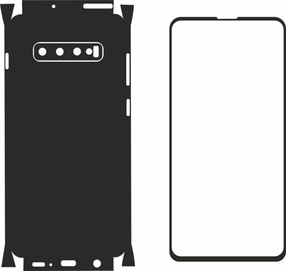 Picture of Samsung Galaxy S10 Plus Skin Template