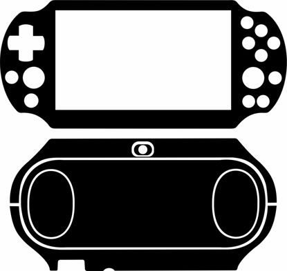 Picture of Sony PS Vita 2000 Skin Template