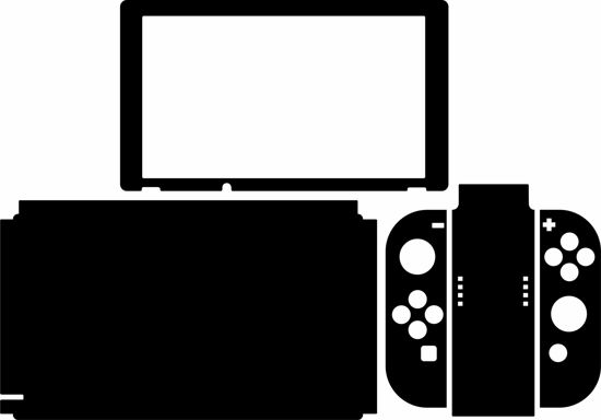 Picture of Nintendo Switch Skin Template