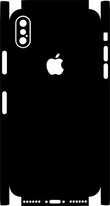 Picture of iphone 10 X Skin Template