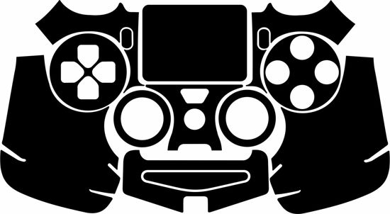 Picture of PS4 Controller Skin Template