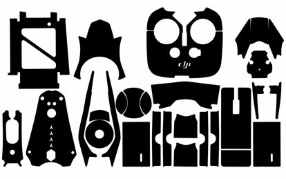 Picture of DJI Inspire 2 Drone Skin Template