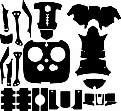 Picture of DJI Inspire 1 Drone Skin Template