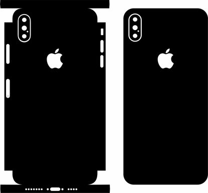 Picture of iphone XS Max Skin Template