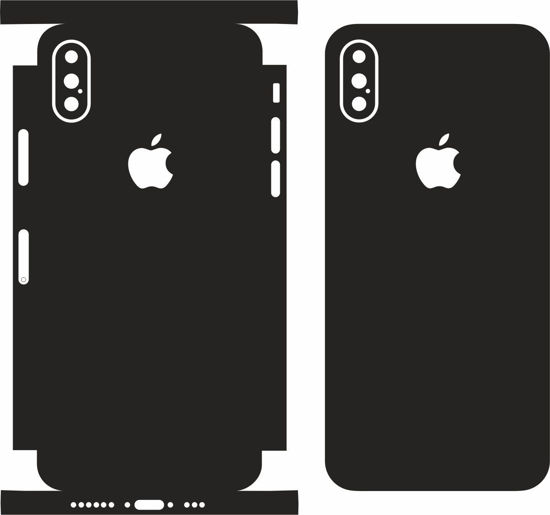 Picture of iphone XS Skin Template