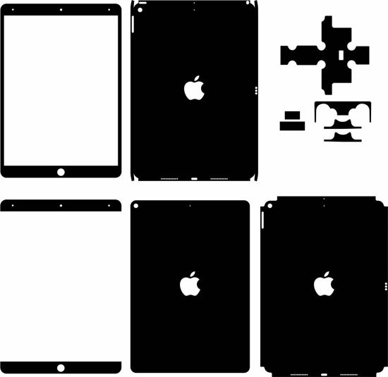 Picture of ipad Air 3rd Gen 2019 Skin Template
