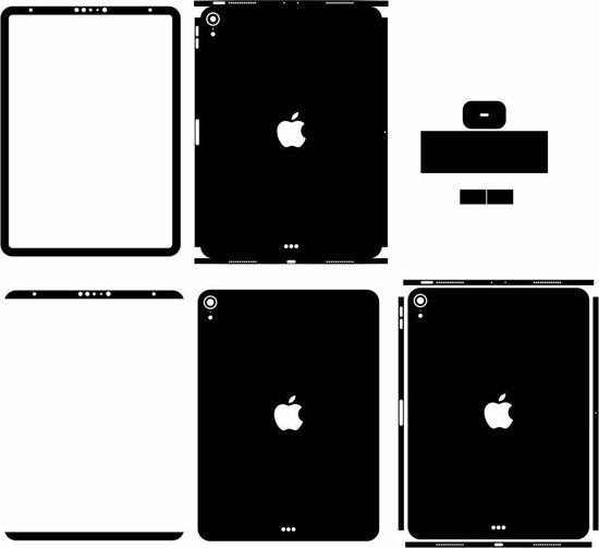 Picture of ipad Pro 3rd Gen 11 Inch  2018 Skin Template