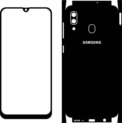 Picture of Samsung Galaxy A30 2019 Skin Template