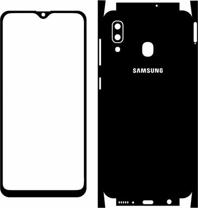 Picture of Samsung Galaxy A20 2019 Skin Template