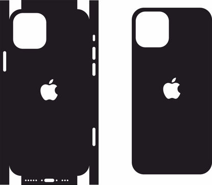Picture of iphone 12 Skin Template