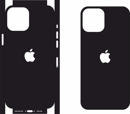 Picture of iphone 12 Pro Max Skin Template