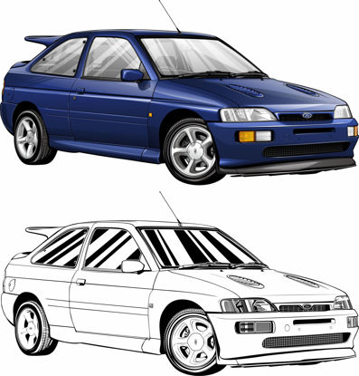 Picture of Ford Escort RS Cosworth