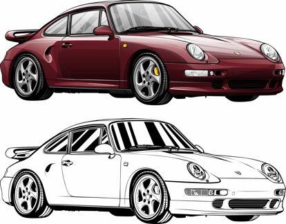 Picture of Porsche 993 Turbo