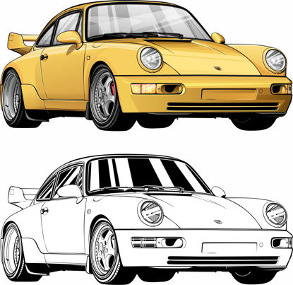 Picture of Porsche 964 RS