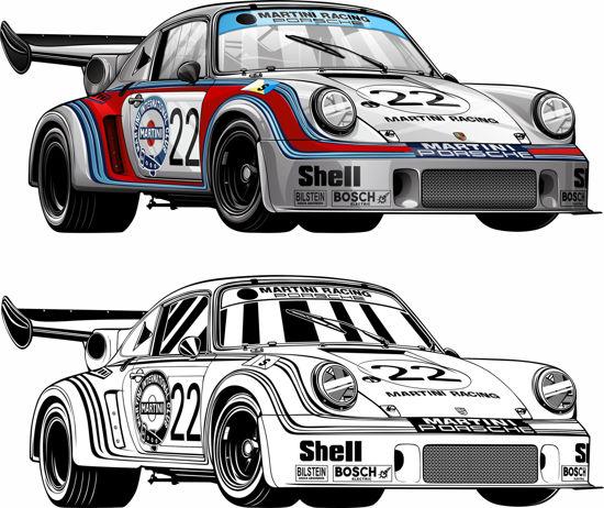 Picture of Porsche 911 Le Mans