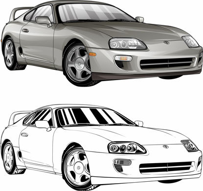 Picture of Toyota Supra Turbo