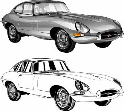 Picture of Jaguar e - type