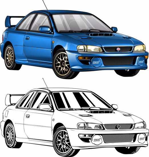Picture of Subaru Impreza RB22
