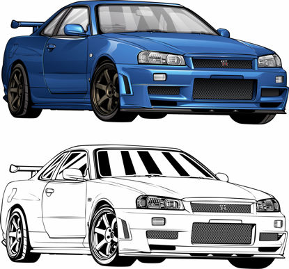 Picture of Nissan Skyline R34