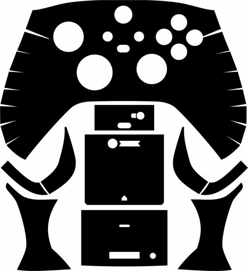 Picture of Xbox Series S & X Controller Skin Template