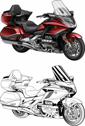 Picture of Honda Goldwing